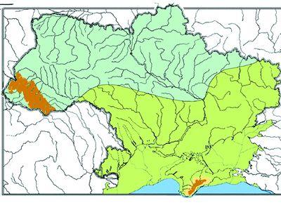 Дофіновський інтервал (32—22 тис. р. до н.е.) був позначений помірним вологим кліматом