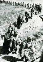 Німецькі військовополонені під Одесою. 1944 р.